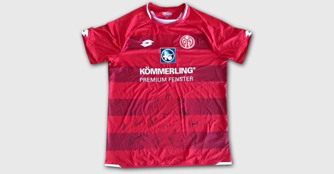 Trikot Mainz 05 signiert