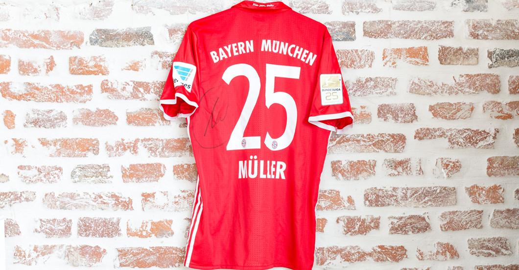 Trikot Müller Matchworn