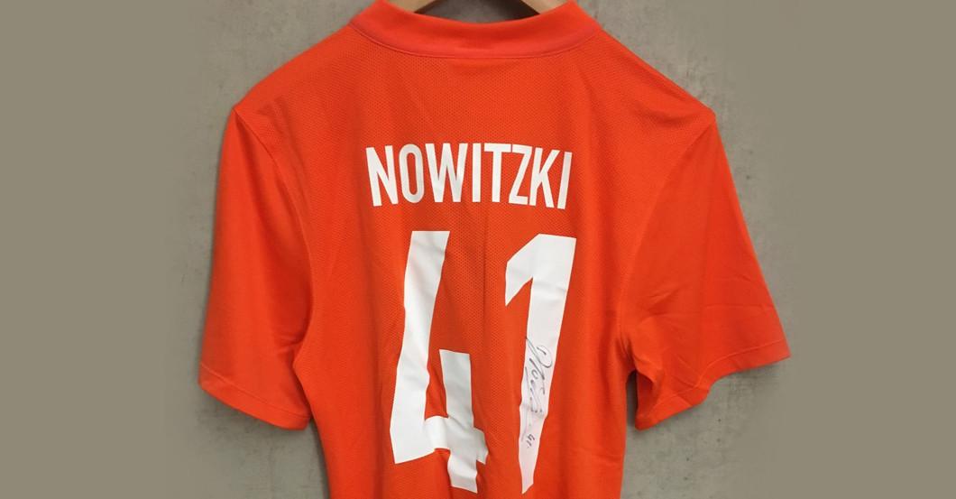 Trikot Nowitzki L