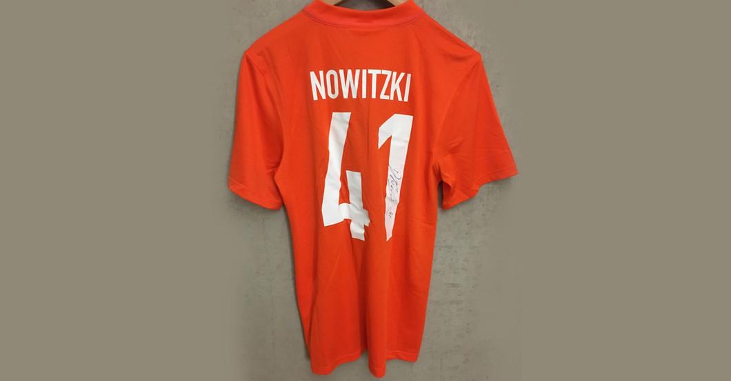 Trikot Nowitzki S