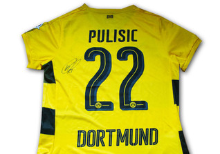 Shirt Signed Pulisic