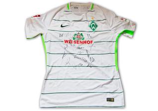 Trikot Werder signiert