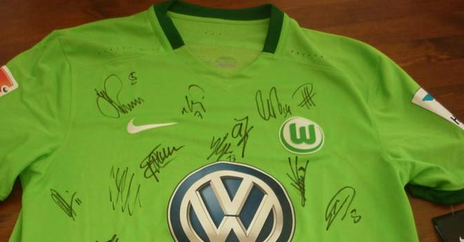 Trikot Wolfsburg neu