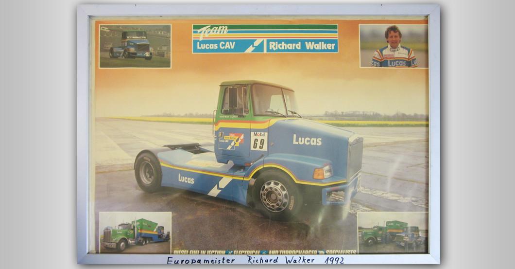 Truck Racing Bild