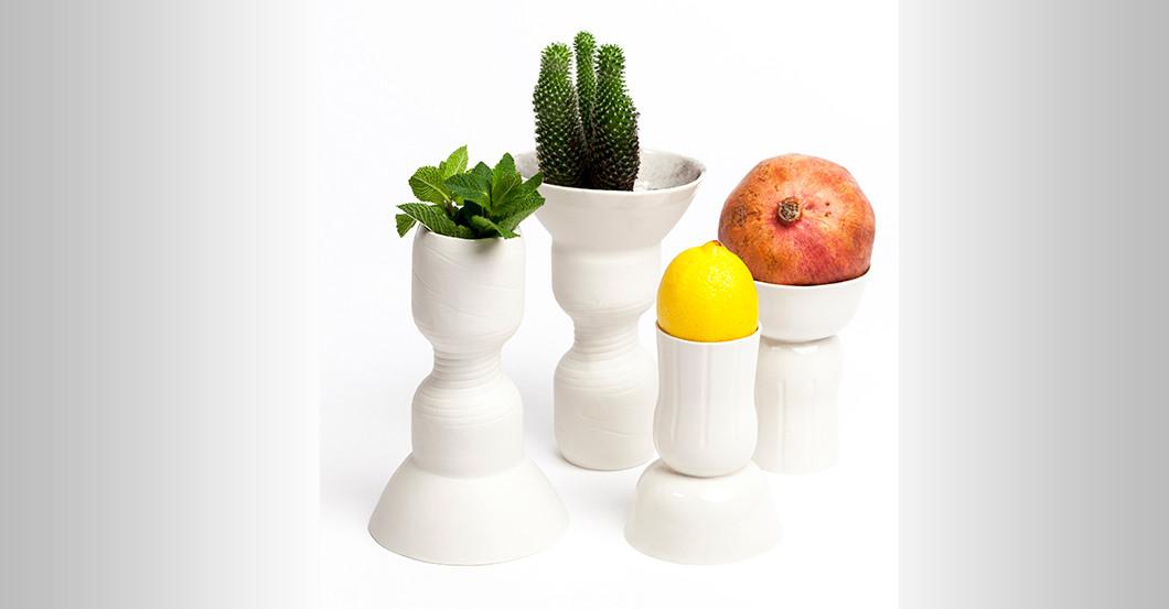 design trifft kunst vasen kusanya von julius f hrer. Black Bedroom Furniture Sets. Home Design Ideas