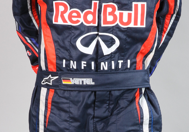 Vettels Rennanzug