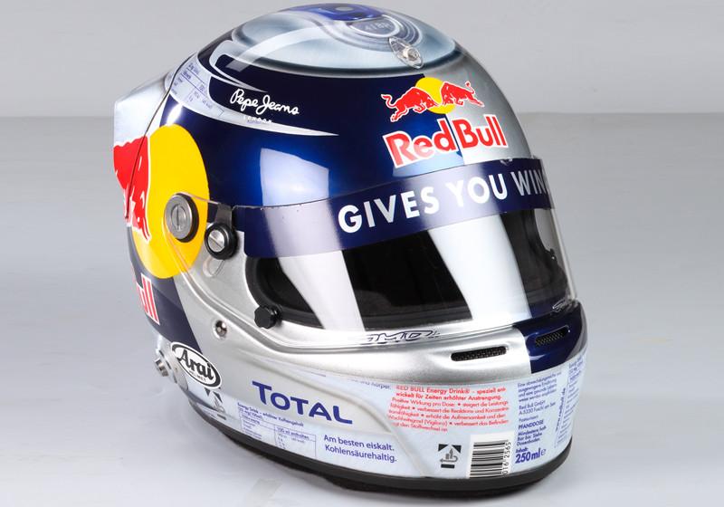 Vettels Rennhelm