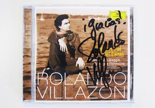 Villazon signierte CD