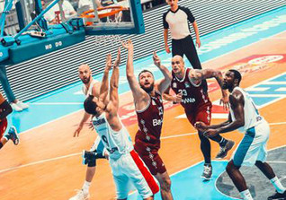 VIP beim Basketball