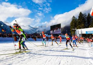 VIP beim Biathlon