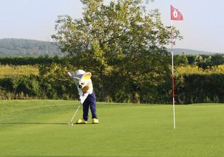 VIP beim Golfturnier