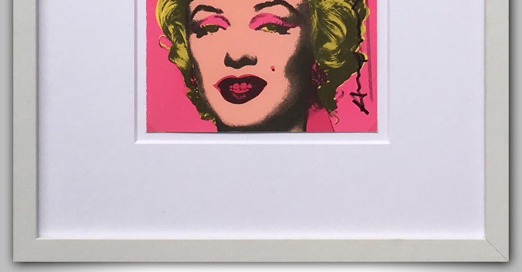 Warhol Marilyn Monroe