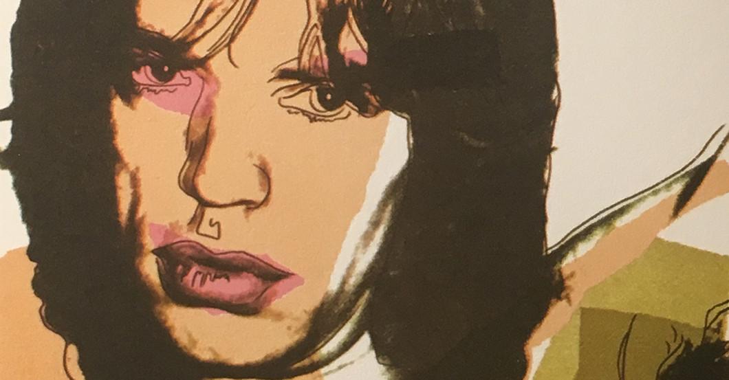 Warhol Mick Jagger
