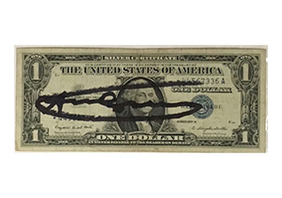 Warhol One Dollar Bill