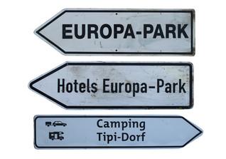 Wegweiser Europa-Park
