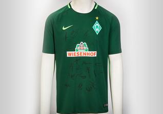 Werder Trikot signiert
