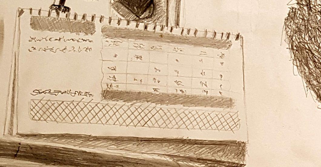 Fenster bleistiftzeichnung  Bleistift-Zeichnung von Nachwuchskünstler Kasra Nikbin