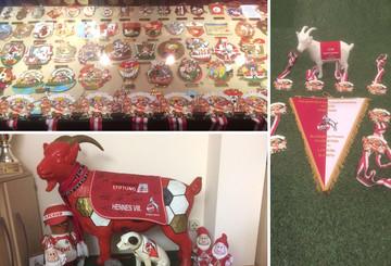 1. FC Köln Fan gewährt Einblicke in seine Sammlung