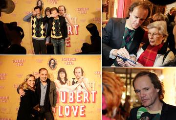 """Auf der Premiere von """"Schubert in Love"""""""