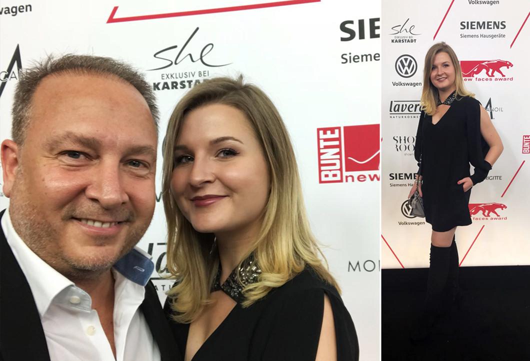 Caner und Selen beim new faces award Style