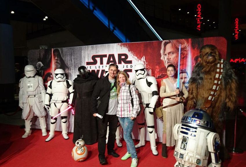 Bei der Star Wars Preview in Köln
