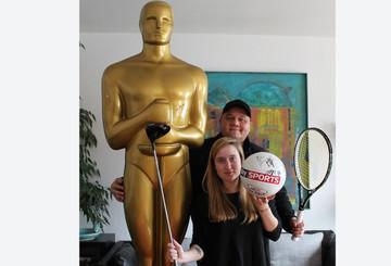 Ein Oscar und einzigartige Sport-Andenken