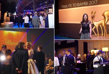 Desireé feierte bei TRIBUTE TO BAMBI
