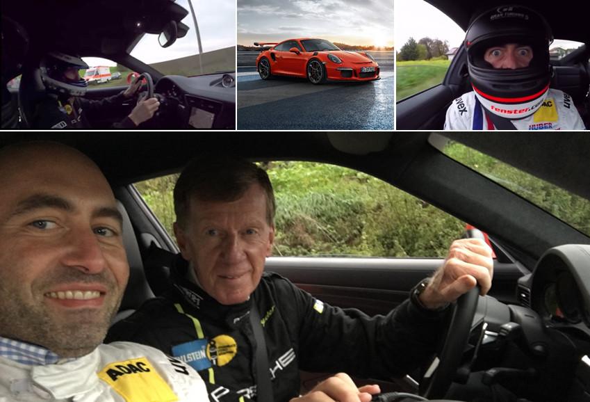 High-Speed-Video mit Walter Röhrl