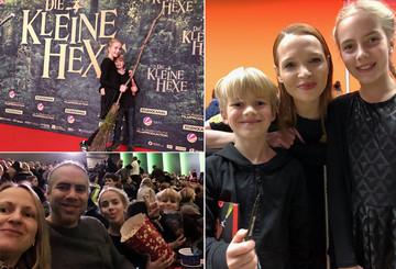 """Thorsten und seine Familie bei """"Die kleine Hexe"""""""