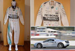 Komplett ausgestattet – Motorsport-Fan ersteigert einmaliges Formel 1-Outfit