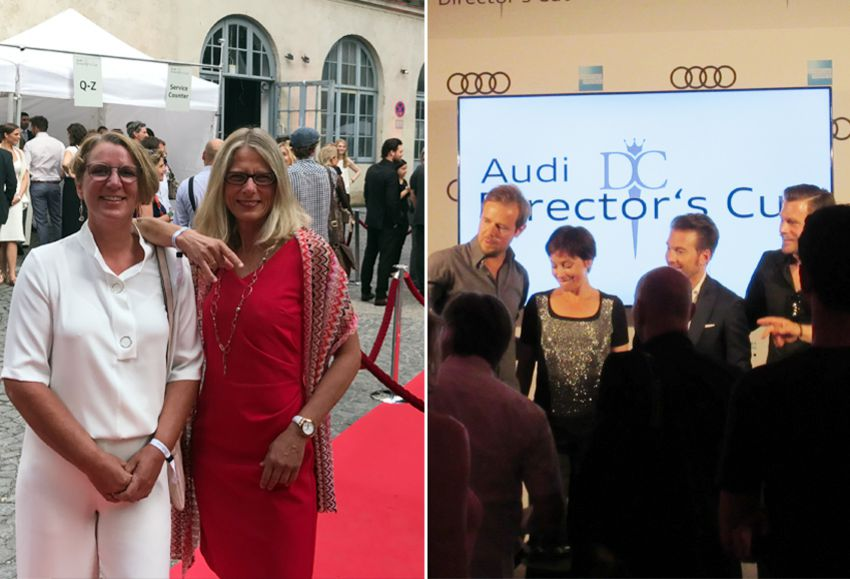 Ilona und ihre Freundin beim Audi Director's Cut