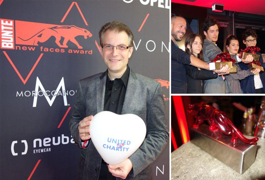 Red Carpet-Feeling beim BUNTE new faces award