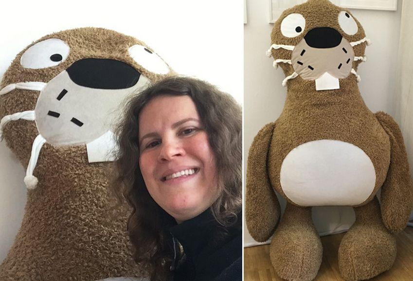 Riesen-Hase findet neues Zuhause