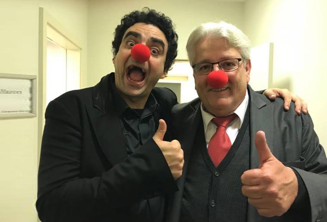 Gerhard mit Rolando Villazón