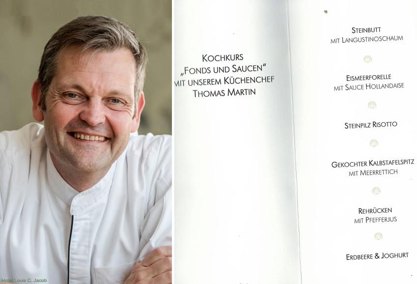 Das Menü aus dem Kochkurs mit Thomas Martin