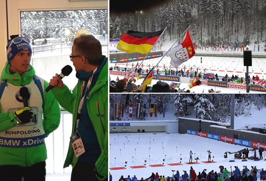 Tolle Atmosphäre beim Biathlon Weltcup in Ruhpolding
