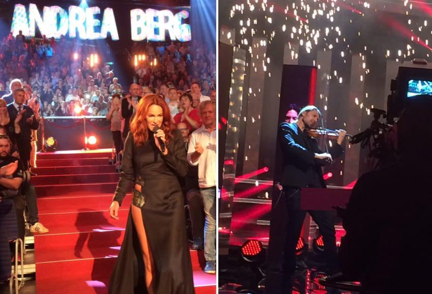 Zu Gast bei der Live-Show von Carmen Nebel