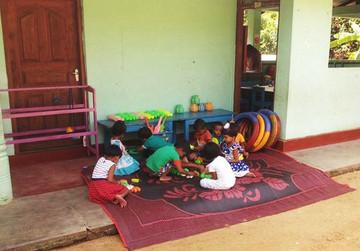 Bau einer Vorschule in Sri Lanka - Neue Klassenräume, Toiletten und ein Spielplatz