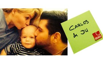 Carlos und Du - Knochenmarkspende für leukämiekranken Carlos