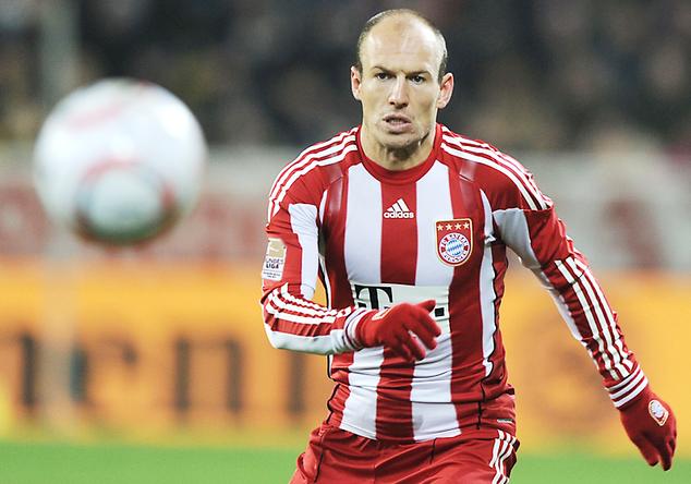Bayern-Trikot Robben