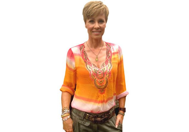 Batik-Bluse von Sonja