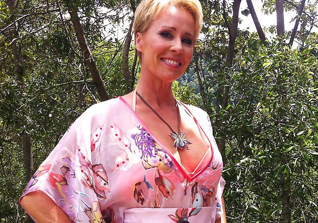 Sonjas rosafarbene Tunika