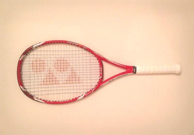 Der Tennis-Schläger von Sabine Lisicki aus dem Wimbledon-Finale