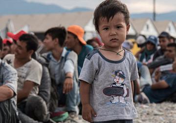 Flüchtlingskinder in Not – Hilfsprojekte der SOS-Kinderdörfer