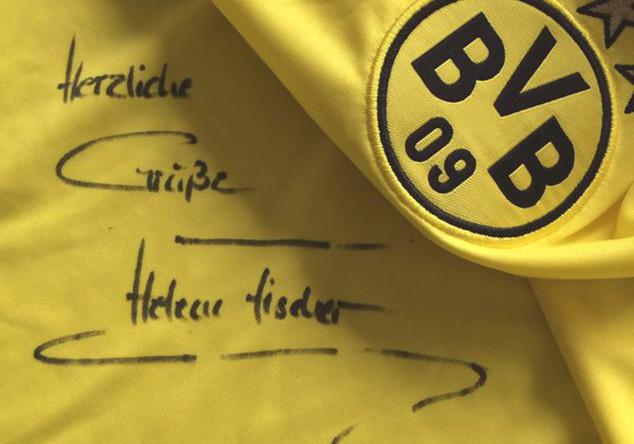 BVB-Trikot Helene Fischer
