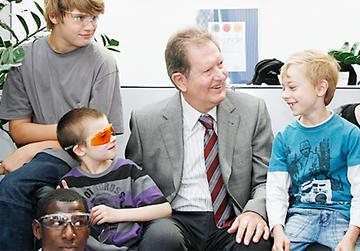 Das Kinderheim untersützt bedürftige und kranke Kinder im In- und Ausland finanziell