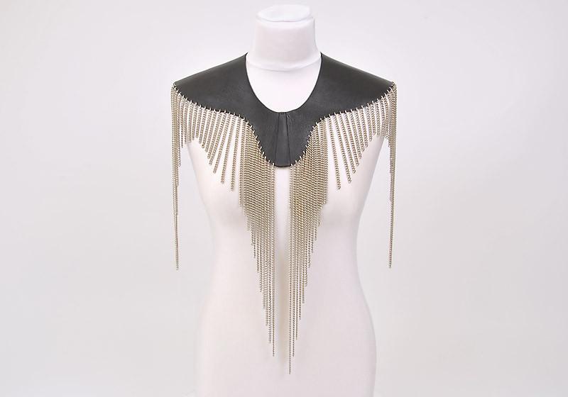 Chain-Shirt von Bill Kaulitz designed by Tom Zauke