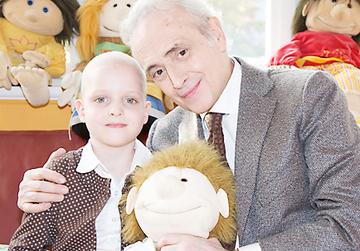 Die José Carreras Leukämie-Stiftung will krebserkrankten Kindern helfen