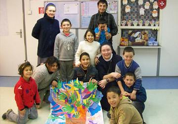 Malteser-Schulzentrum für Sinti und Roma Kinder in Tarnabod