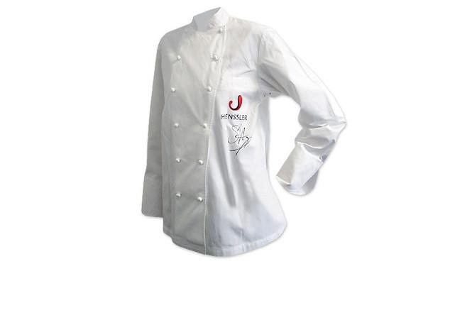 Signierte Kochjacke von TV-Koch und Sushi-Spezialist Steffen Henssler
